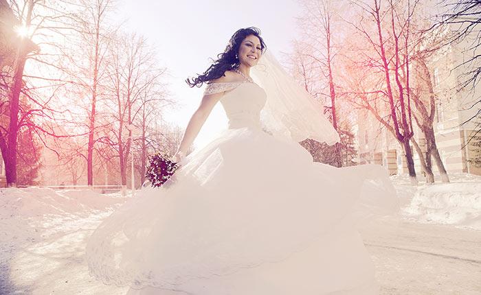 Winter Weddings Color Combination Ideas
