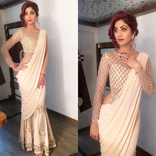 Hairstyles To Complement Your Saree - Greek Goddess Updo