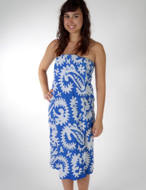 How to wear a sarong - Bandeau Style