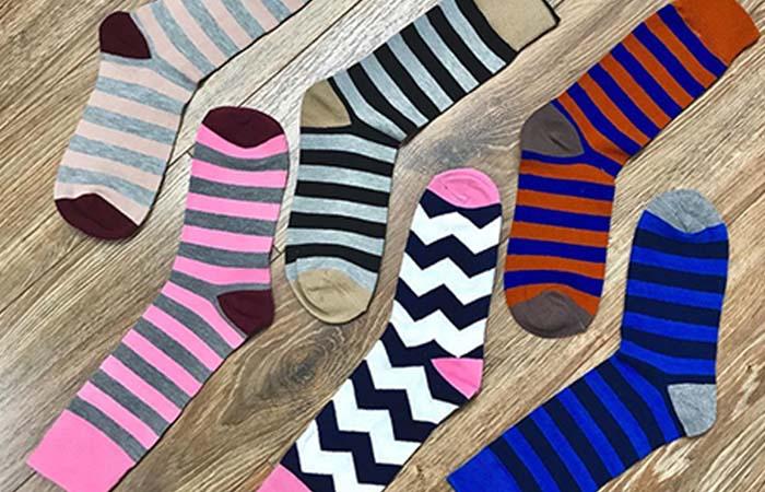 3. Crew Length Socks