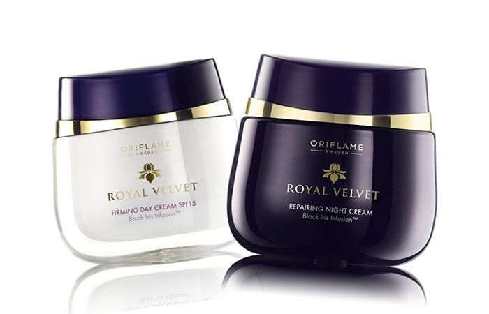 Best Oriflame Beauty Products - 1. Oriflame Royal Velvet Day and Night Cream (Set of 2)