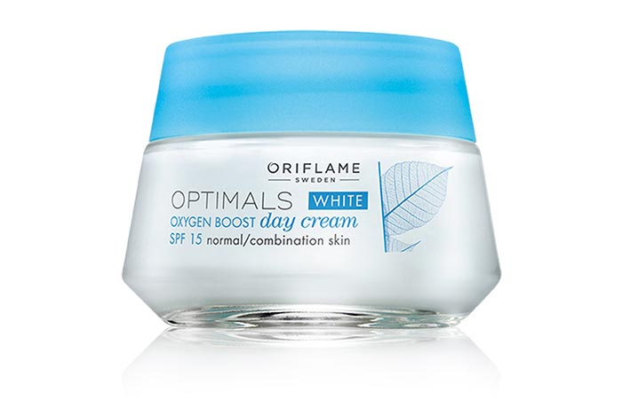 Best Oriflame Skin Care Products - Oriflame Optimals White Oxygen Boost Day Cream SPF 15
