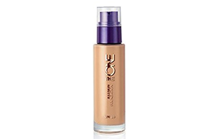 Best Oriflame Beauty Products - 4. Oriflame The ONE IlluSkin Foundation