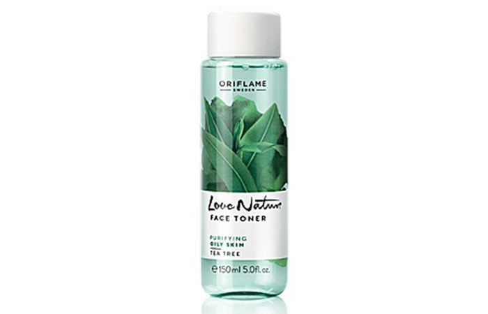 Best Oriflame Beauty Products - 7. Oriflame Love Nature Face Toner Tea Tree