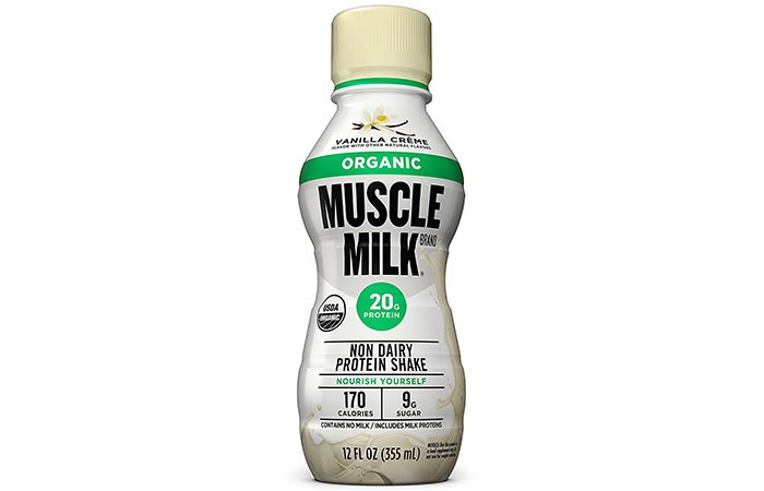 Protein Shakes For Weight Loss - Muscle Milk Organic Non-Dairy Protein Shake