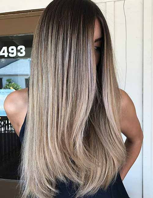Ash Brown Hair Color With Blonde Highlights Best Hair Color 2018