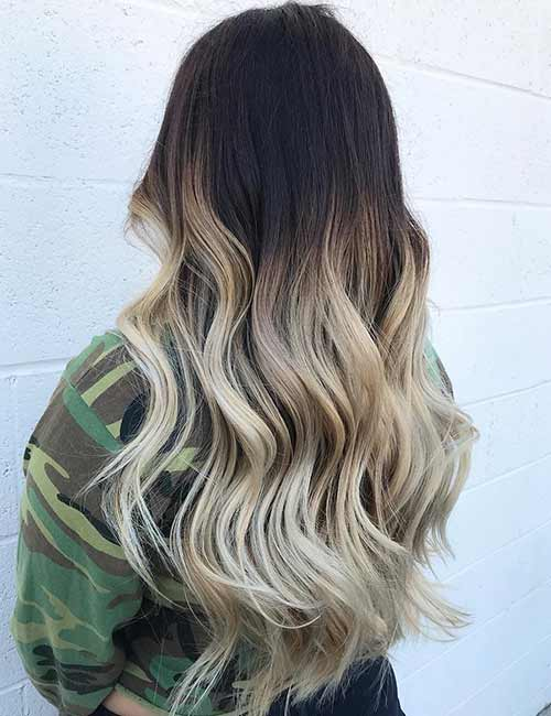 20 Amazing Ombre Hairstyles Photos Ombre Blonde Ombre