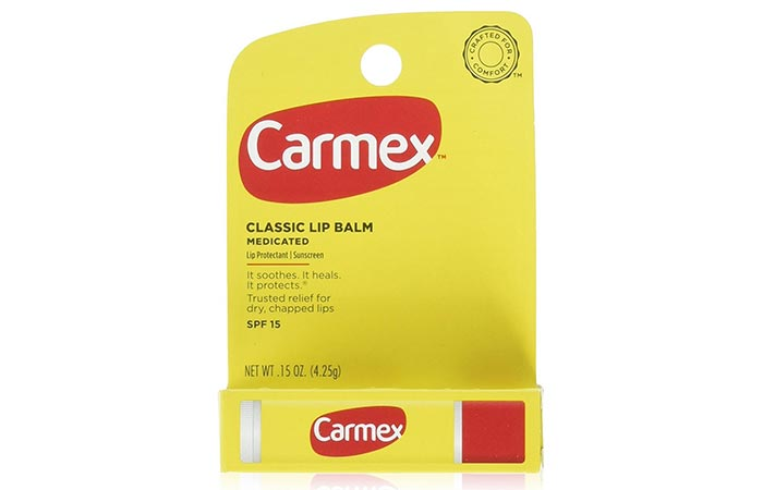 Best Drugstore Lip Balms - 4. Carmex Classic Lip Balm Original Stick
