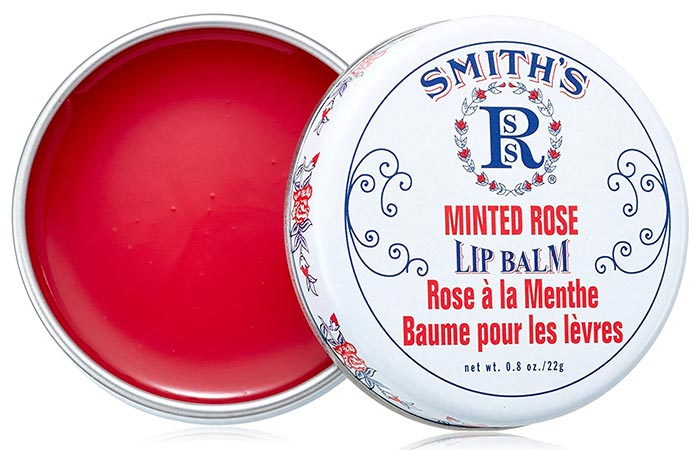 Best Drugstore Lip Balms - 6. Smith's Minted Rose Lip Balm