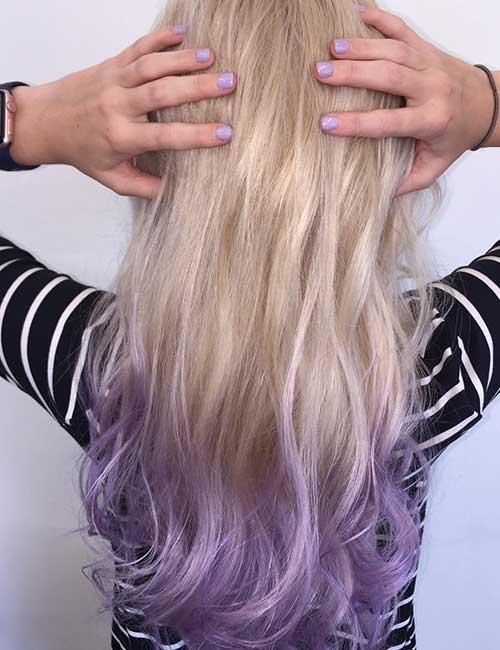 Dying Blonde Hair With Purple Kool Aid - Best Image of Blonde Hair 2018