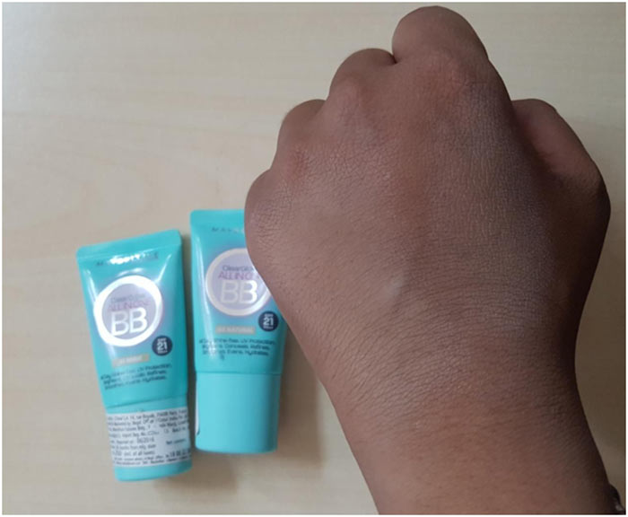 Maybelline Clear Glow Bright Benefit Cream Shades