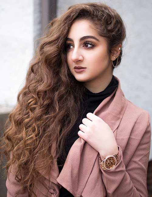 1. Natural Light Brown Hair Color