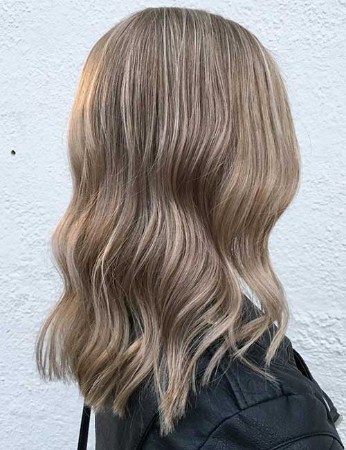 13. Light Ash Brown Hair Color