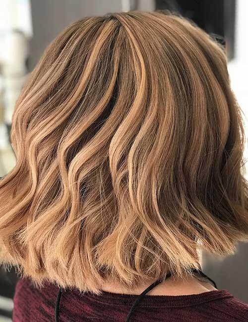 14. Light Hazelnut Brown Hair