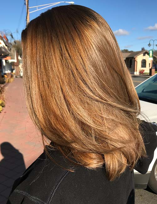3. Light Golden Brown Hair Color