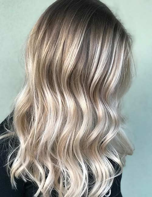 4. Iced Out Dirty Blonde