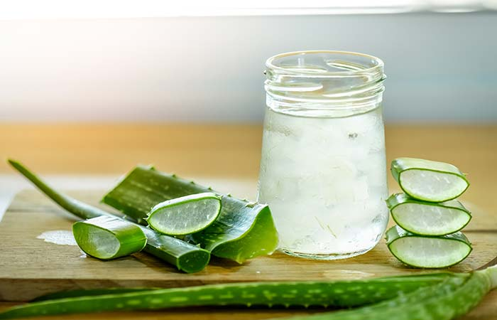 6. Aloe Vera And Hydrogen Peroxide For Acne
