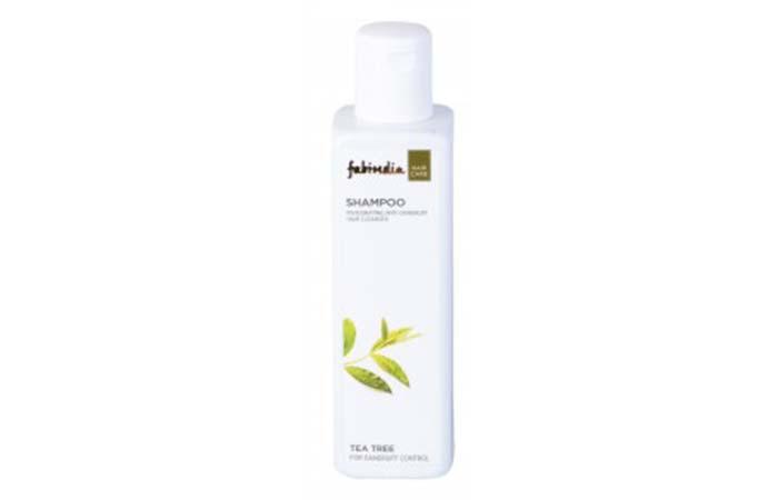 6. Fabindia Tea Tree Dandruff Control Shampoo