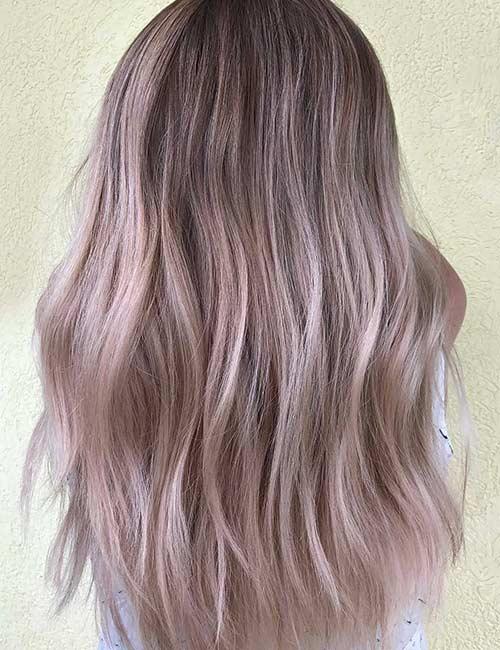 7. Rose Blonde