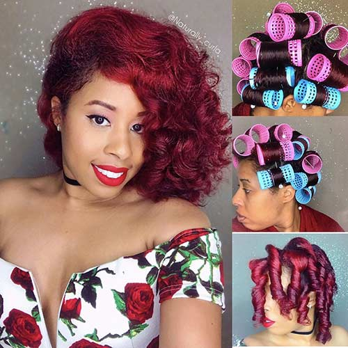 8. Bouncy Curls