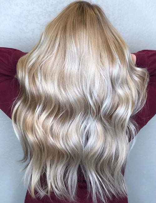 9. Frosty Blonde Sombre