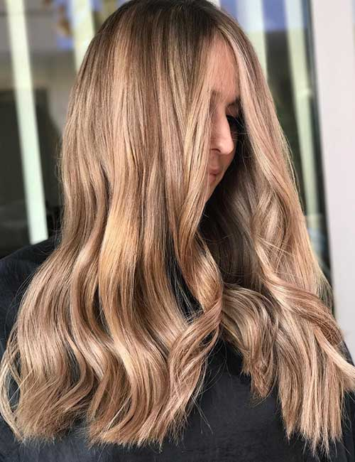 9. Light Sandy Brown Hair Color
