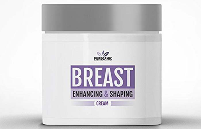 Best Breast Tightening Creams - Pureganic All Natural Breast Lifting And Firming Cream