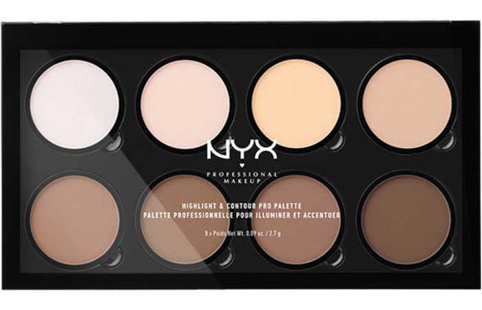 Best Drugstore Contour Kits - 1. NYX Highlight And Contour Pro Palette