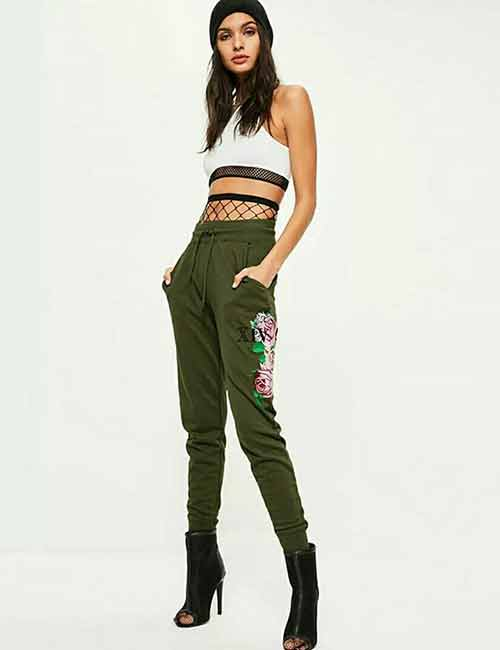 Ways To Wear Joggers - Printed Joggers