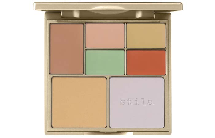Best Concealer Palettes For Flawless Skin - 4. Stila Correct & Perfect All-In-One Color Correcting Palette