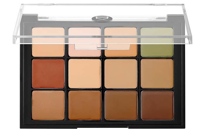 Best Concealer Palettes For Flawless Skin - 6. Viseart Corrector, Contour, Camouflage HD Palette