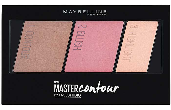 Best Drugstore Contour Kits - 8. Maybelline New York Facestudio Master Contour Kit