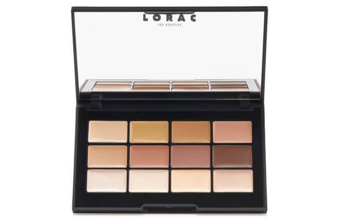 Best Concealer Palettes For Flawless Skin - 9. Lorac PRO Concealer/Contour Palette And Brush