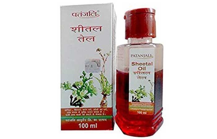 5. Patanjali Sheetal Oil