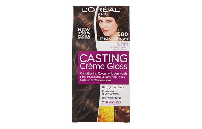 L'Oreal Paris Casting Creme Gloss Hair Color - 500 Medium Brown