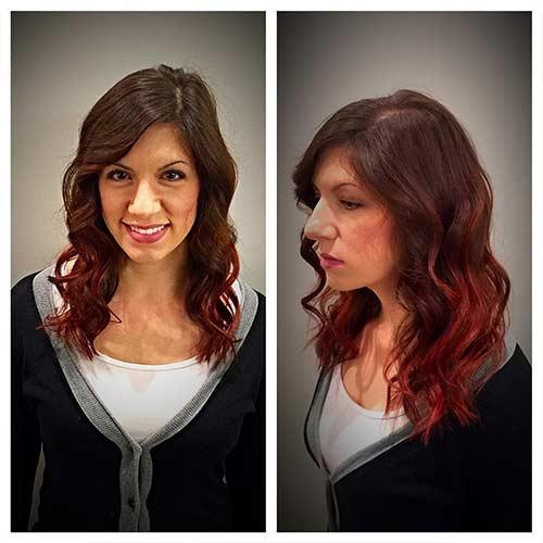 14. Sweet Cola Brown Hair Color