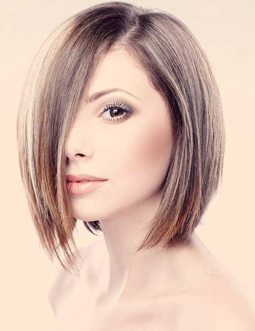 15. Dark Platinum Brown Hair Color