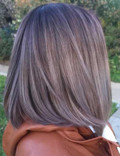 21. Medium Ash Brown Hair Color