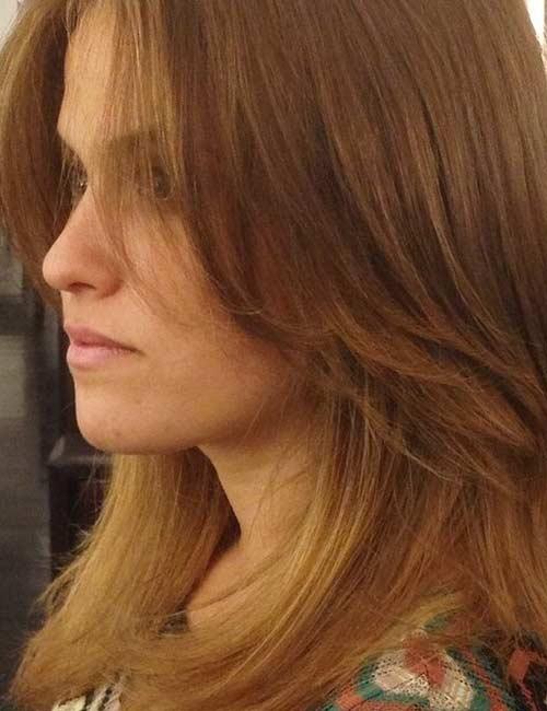 22. Cinnamon Brown Hair Color