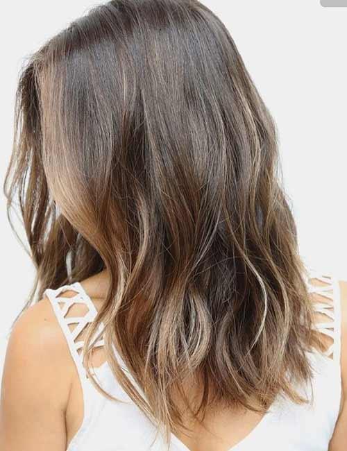 23. Medium Golden Brown Hair Color