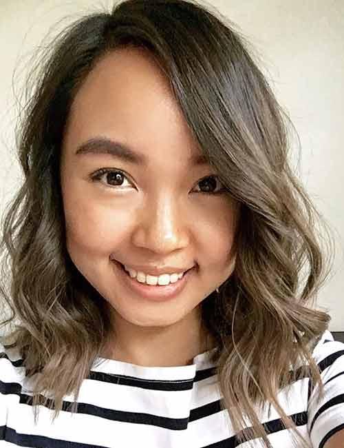 26. Platinum Brown Hair Color