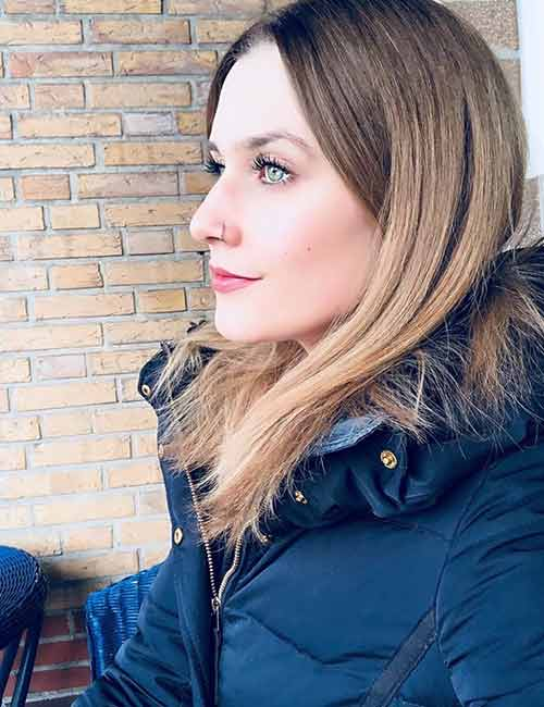 27.Blonde Brown (Bronde) Hair Color