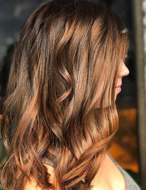 6. Bronze Brown Hair Color