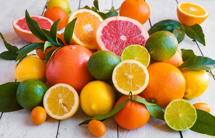 12. Citrus Fruits